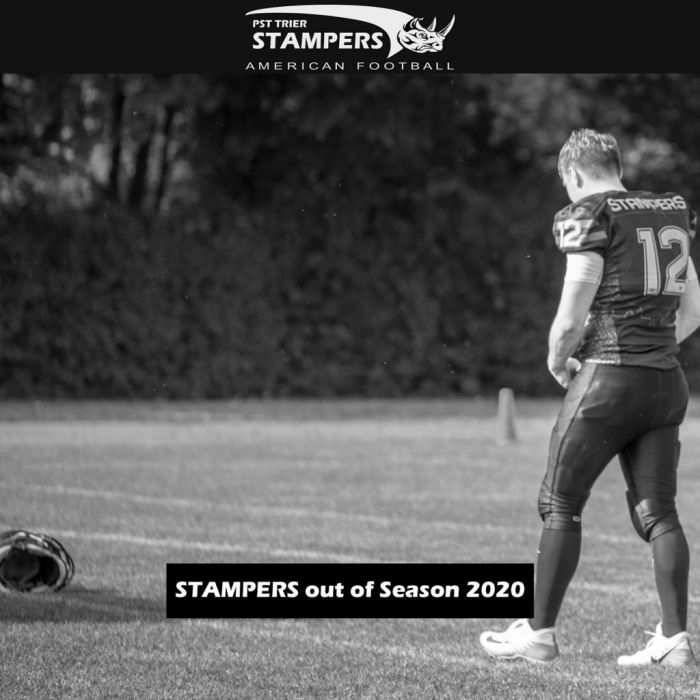 Saisonaus für die Senior Stampers: Corona lässt keinen Spielbetrieb zu!